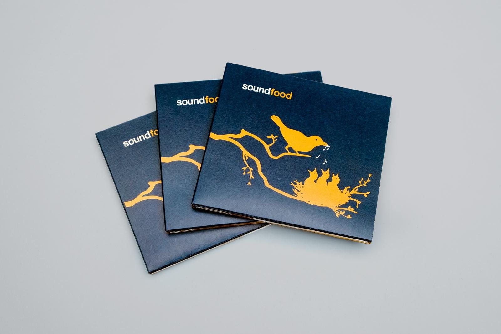 soundfood, Musik Compilation, CD Cover, Digi-Pack, Cover Artwork, Cover, Arrangement