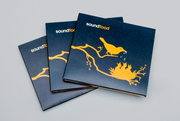 soundfood, Musik Compilation, CD Cover, Digi-Pack, Cover Artwork, Cover, Arrangement, TN