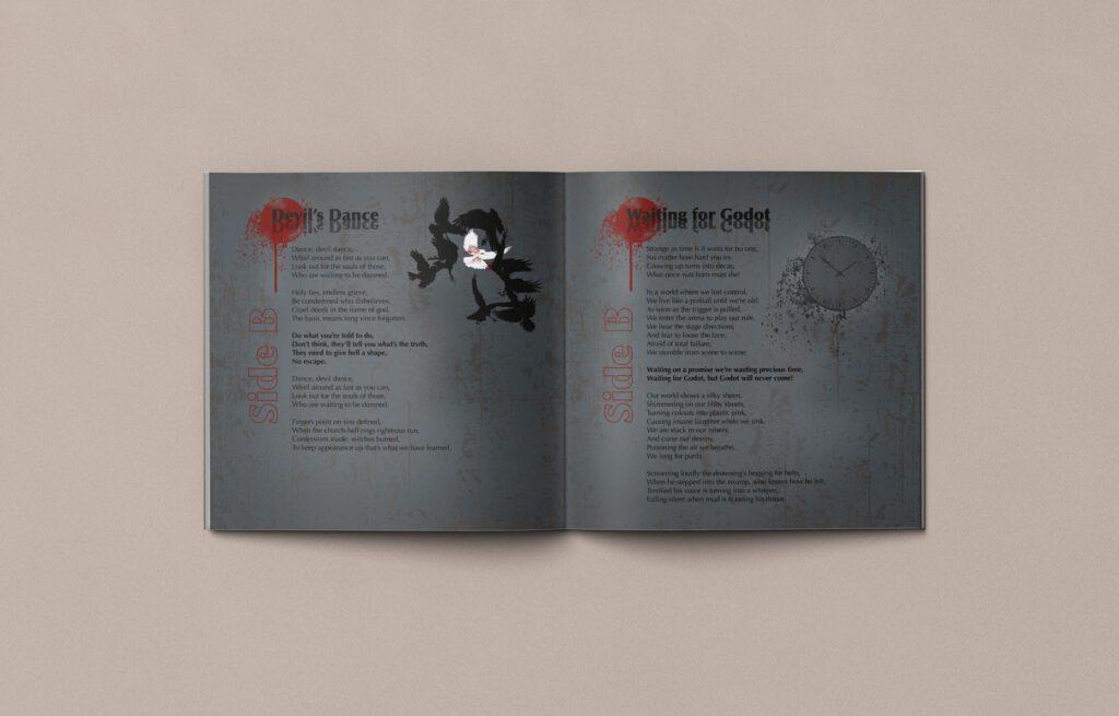 Mule!, opposides, Booklet, CD Cover, Cover Artwork, Inhalt 10-11