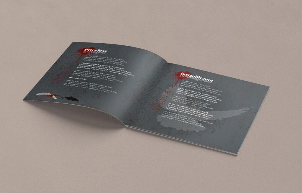 Mule!, opposides, Booklet, CD Cover, Cover Artwork, Inhalt 2-3