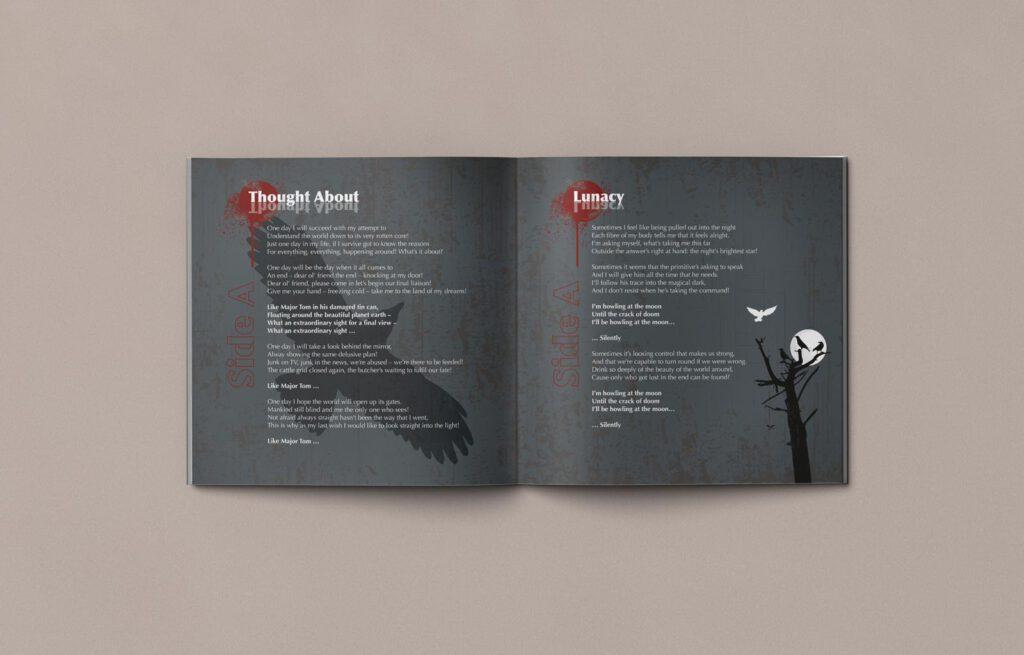 Mule!, opposides, Booklet, CD Cover, Cover Artwork, Inhalt 4-5