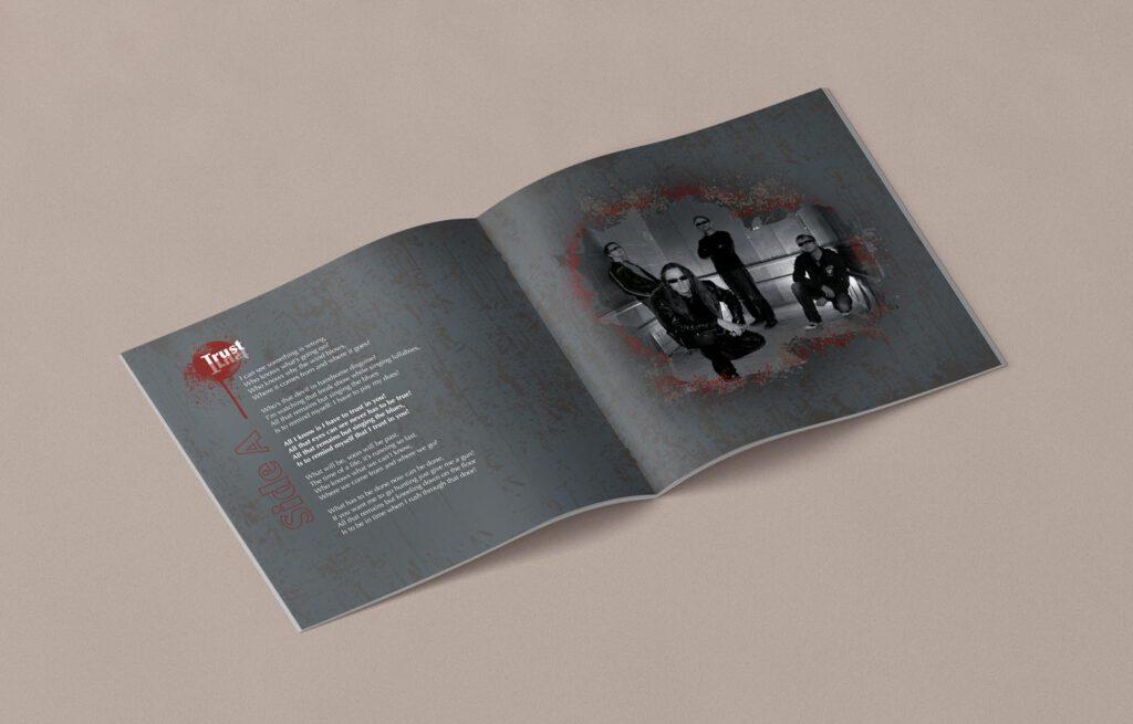 Mule!, opposides, Booklet, CD Cover, Cover Artwork, Inhalt 6-7