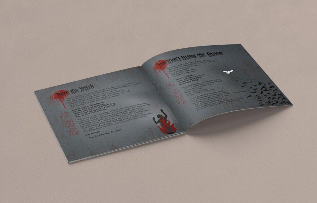 Mule!, opposides, Booklet, CD Cover, Cover Artwork, Inhalt 8-9