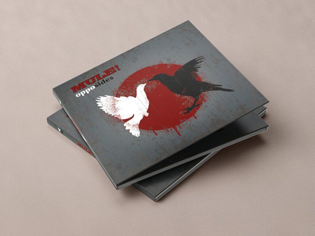Mule!, opposides, CD Cover, Cover Artwork, Album Cover Design