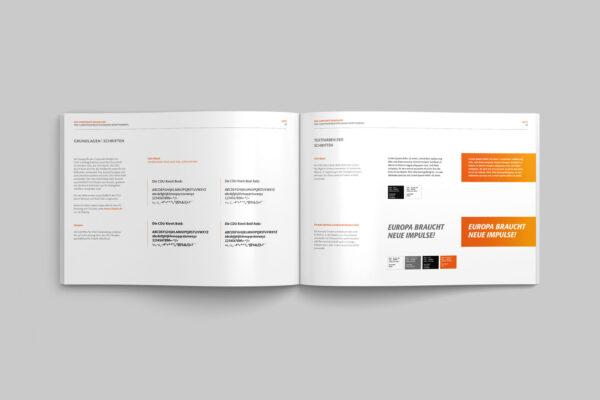 CDU_LF_BW, Styleguide, Corporate Design Relaunch, Redesign, Inhalt, Schrift