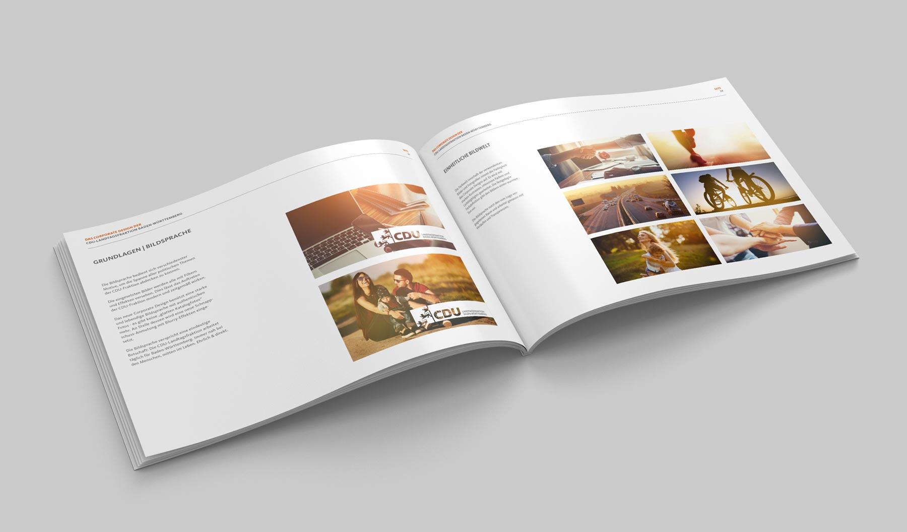 CDU_LF_BW, Styleguide, Corporate Design Relaunch, Redesign, Inhalt, Bildsprache