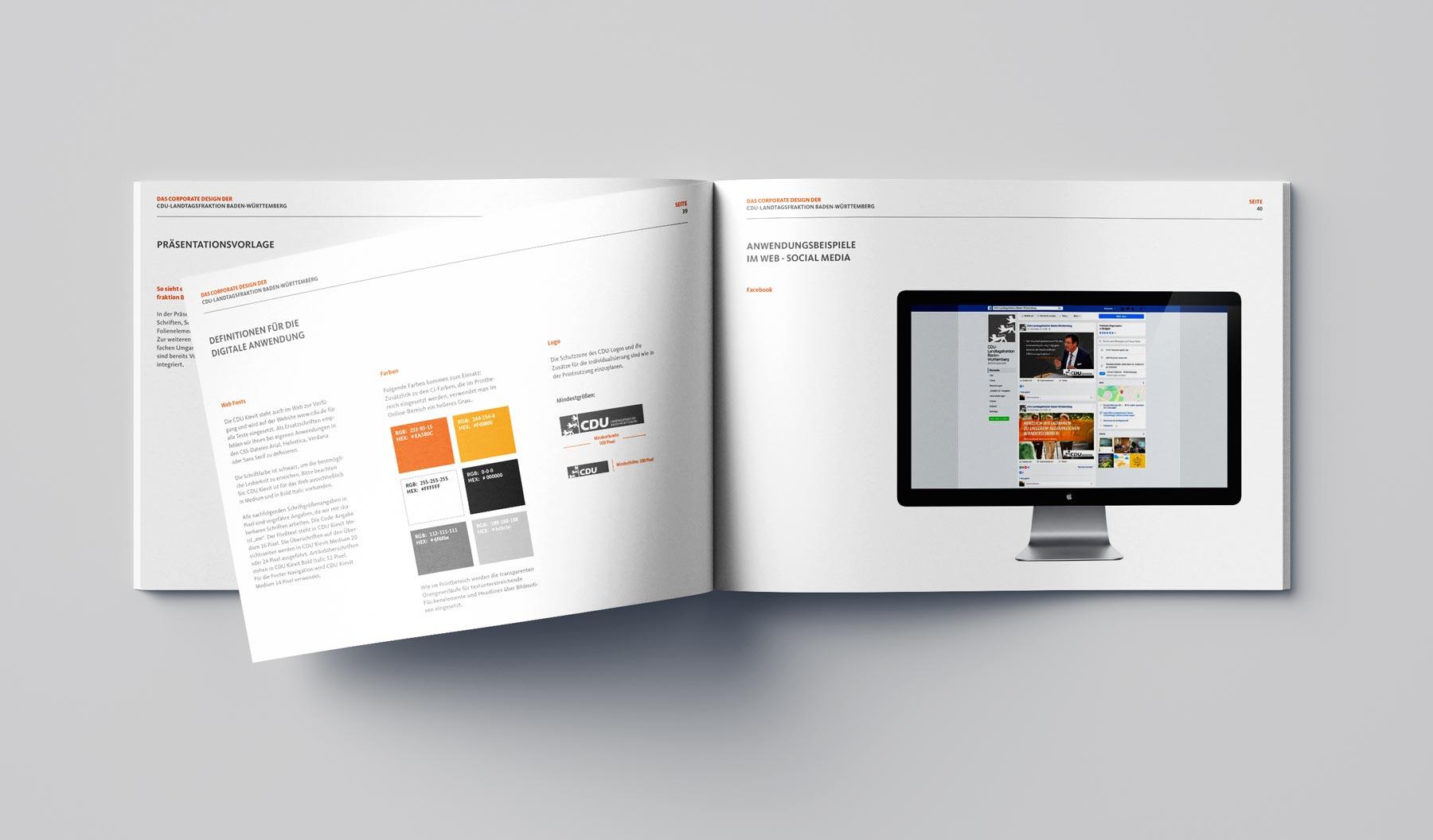 CDU_LF_BW, Styleguide, Corporate Design Relaunch, Redesign, Inhalt, Digital