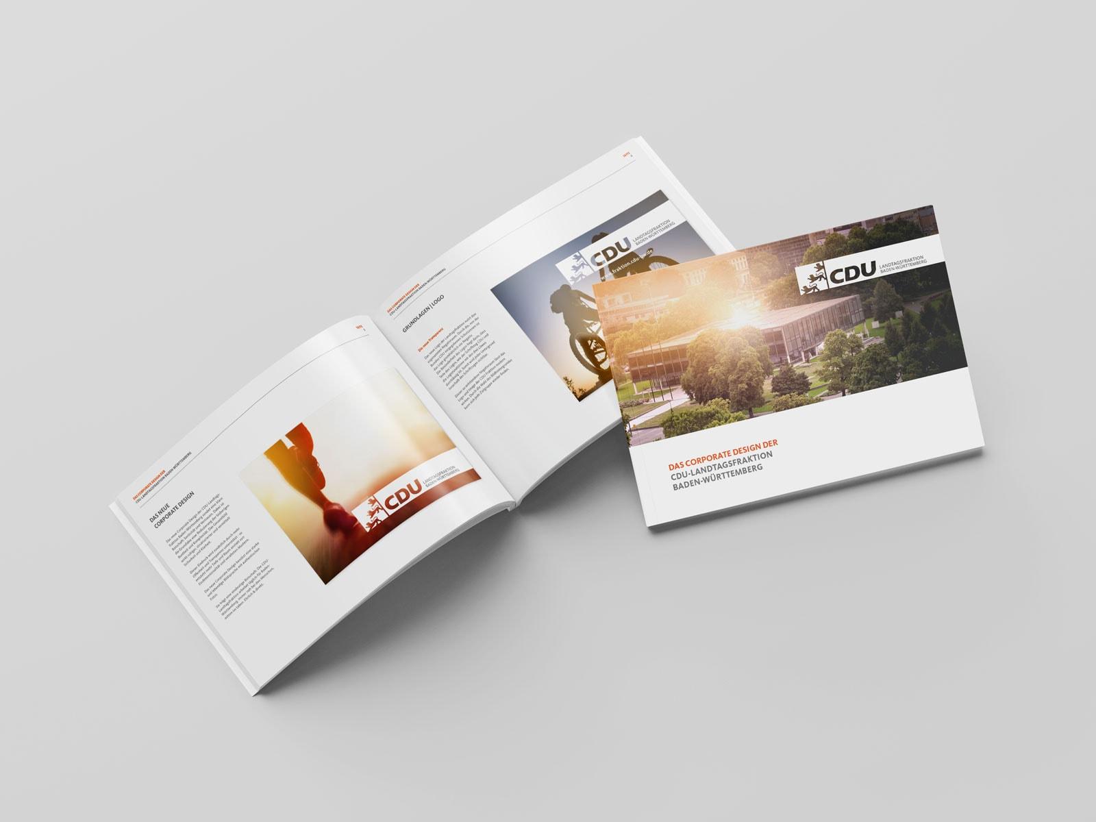 CDU_LF_BW, Styleguide, Corporate Design Relaunch, Redesign, Inhalt, Logo Anwendung
