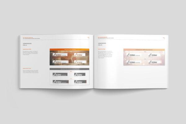 CDU_LF_BW, Styleguide, Corporate Design Relaunch, Redesign, Inhalt, Logo Daten, Definition