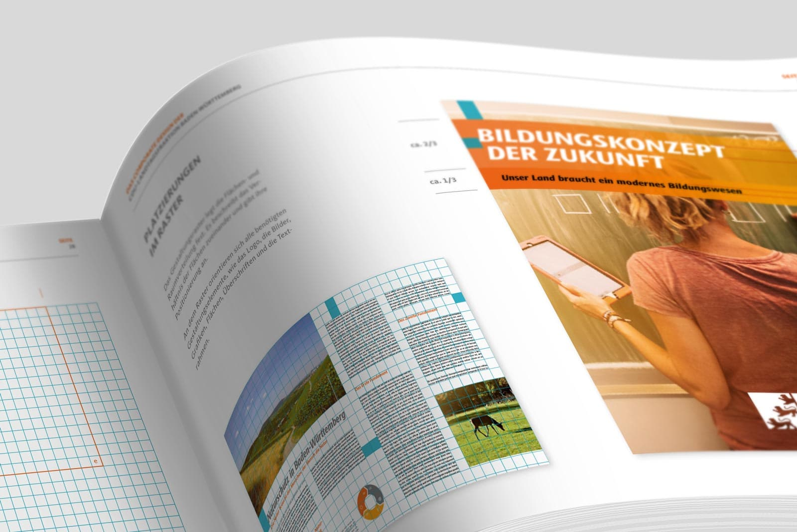 CDU_LF_BW, Styleguide, Corporate Design Relaunch, Redesign, Detail 1