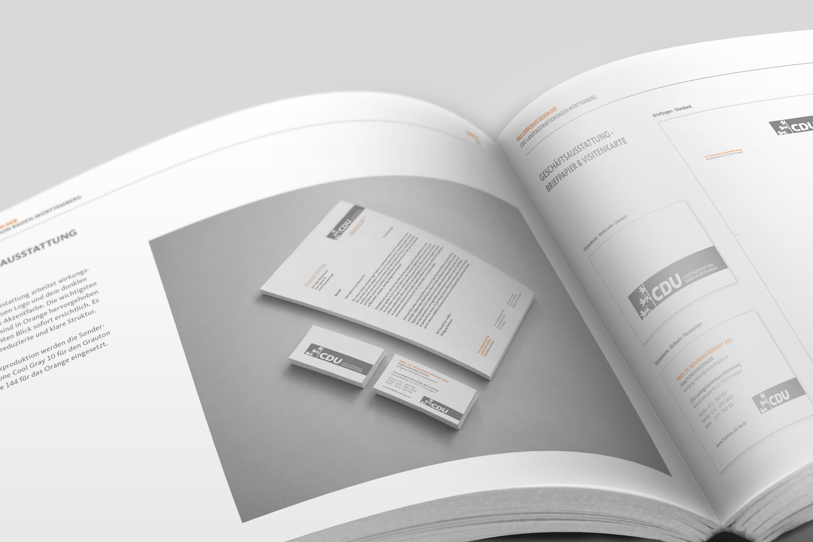 CDU_LF_BW, Styleguide, Corporate Design Relaunch, Redesign, Detail 2