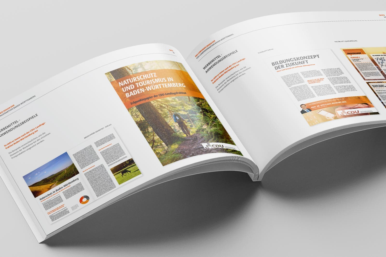 CDU_LF_BW, Styleguide, Corporate Design Relaunch, Redesign, Detail 3