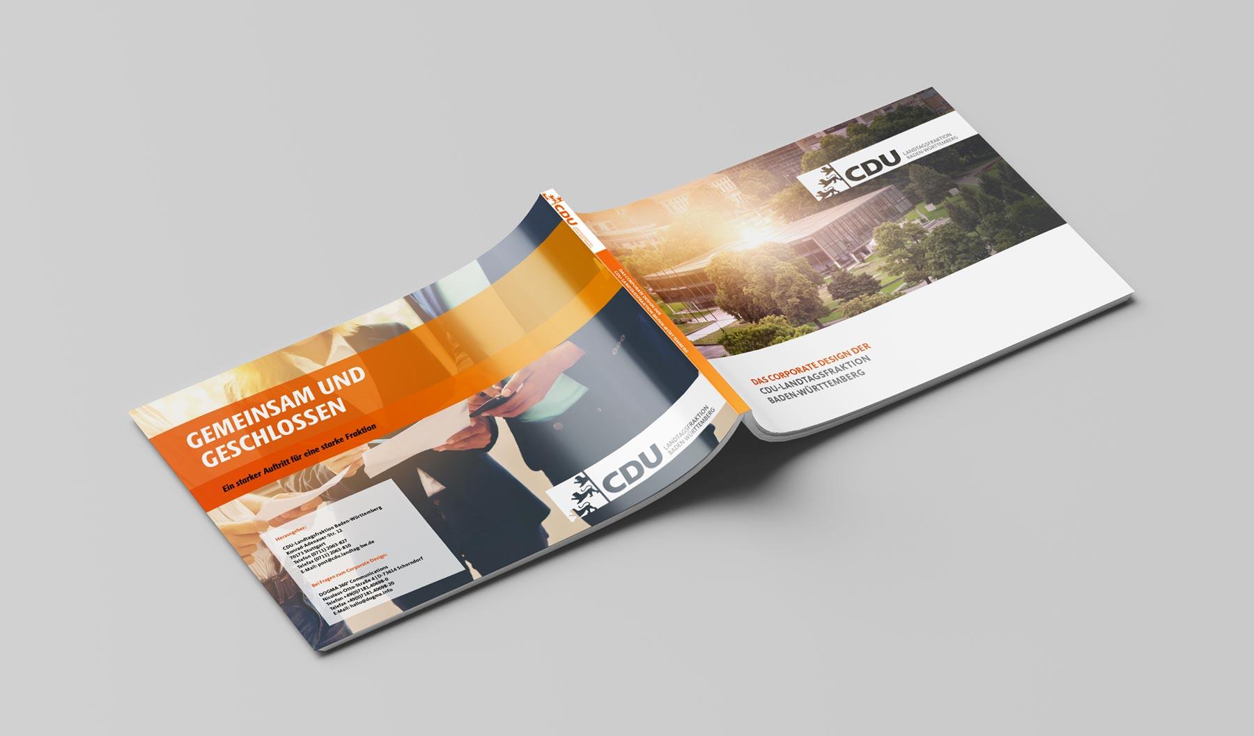 CDU_LF_BW, Styleguide, Corporate Design Relaunch, Redesign, Aussenansicht