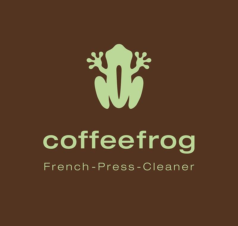 Coffeefrog, Logo Design, Logo, Corporate Design, Fond Braun