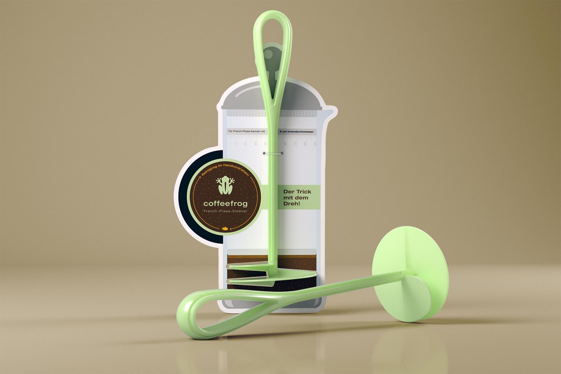 Coffeefrog, Produktverpackung, Packaging, Verpackungsdesign, Kampagnenmotiv