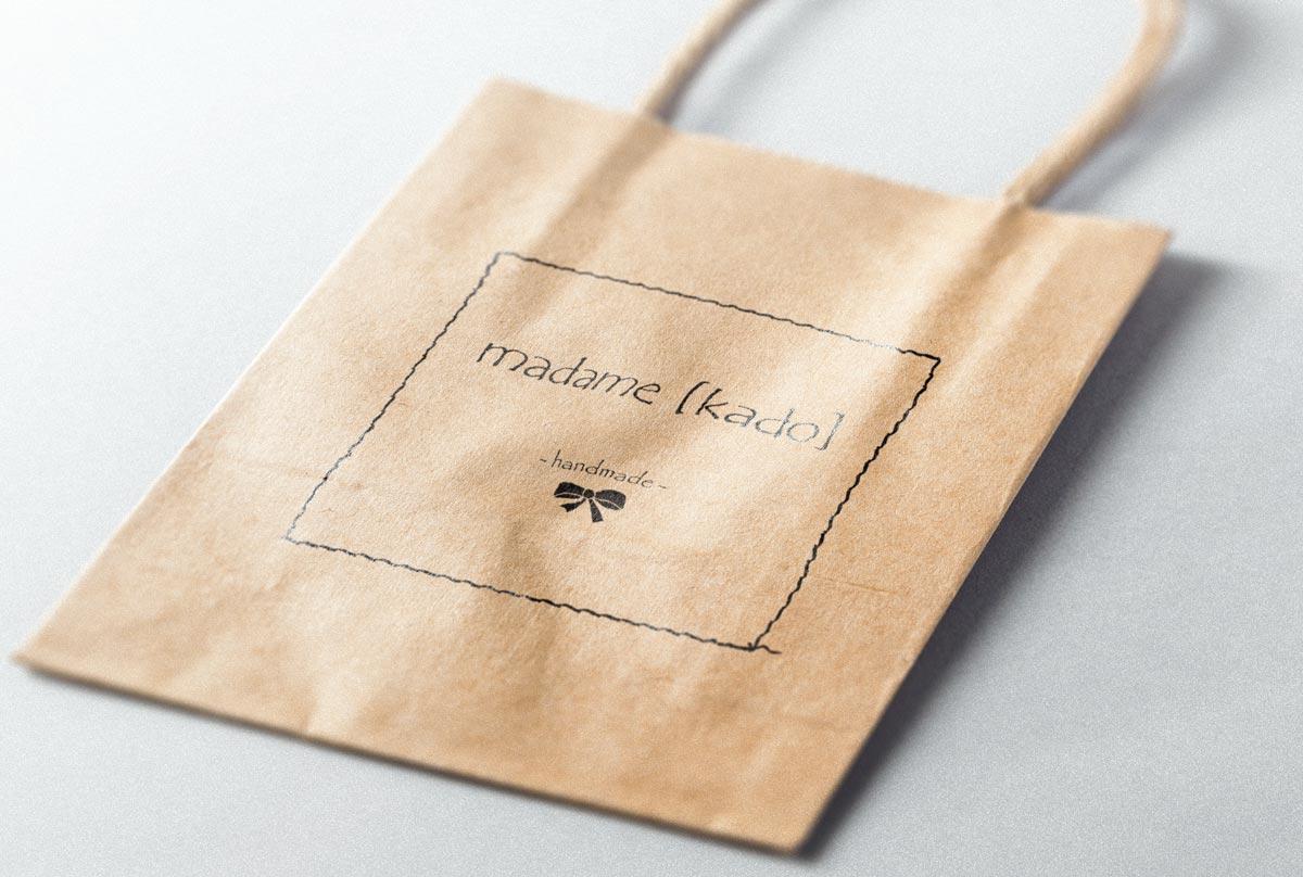 madame kado, Papiertasche, Branding, Retail Design