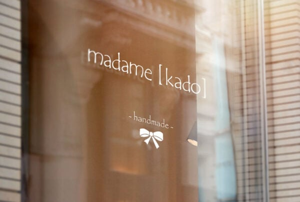 madame kado, Windowsticker, Beschilderung, TN