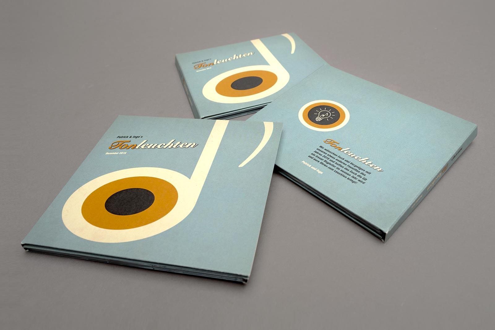 Tonleuchten, Compilation, CD Cover, Rückseite, Cover Artwork, Arrangement