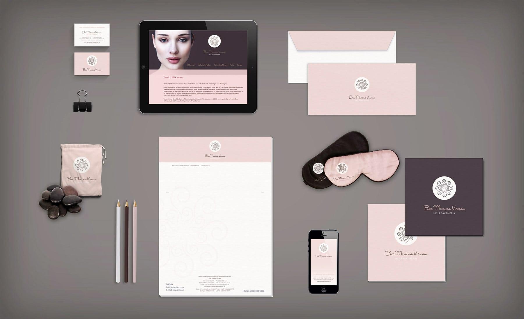 BMV, Stationary, Branding