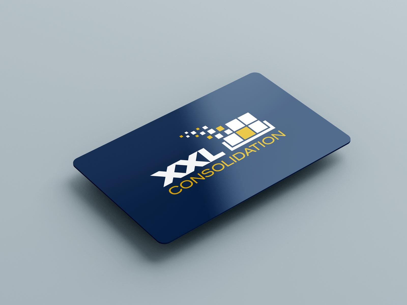XXL Consolidation, personalisierte Kunstoff-Karte, Messebedarf, Werbemittel, Ansicht 2