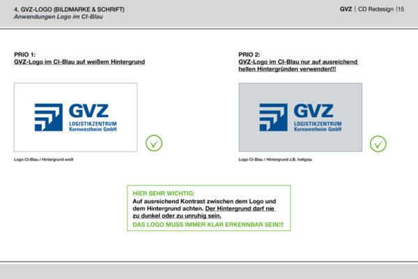 GVZ Corporate Design Guide Inhalt 10