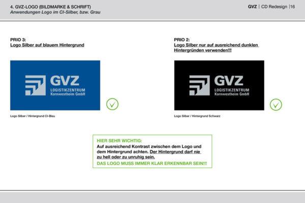 GVZ Corporate Design Guide Inhalt 11