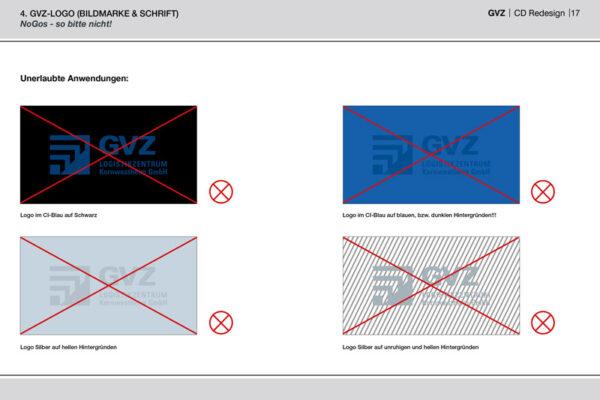 GVZ Corporate Design Guide Inhalt 12