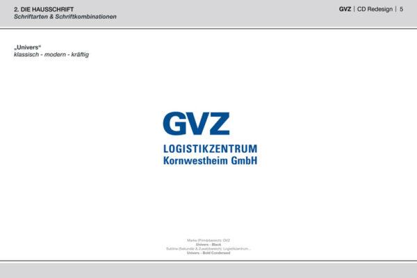 GVZ Corporate Design Guide Inhalt 2
