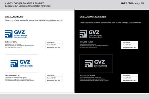 GVZ Corporate Design Guide Inhalt 9