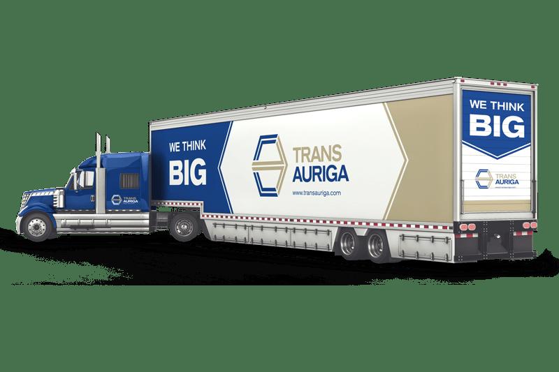 Trans Auriga_Big-Truck_Beschriftung