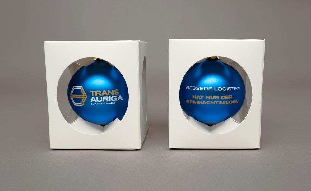 Trans Auriga XMAS-Kugel blau