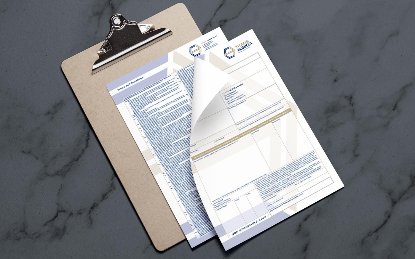 Trans Auriga Papiere