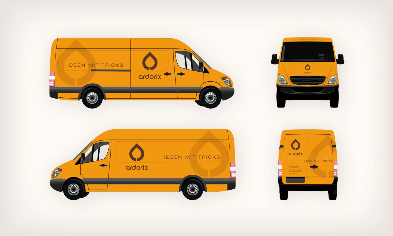 Ardorix, Van, Branding