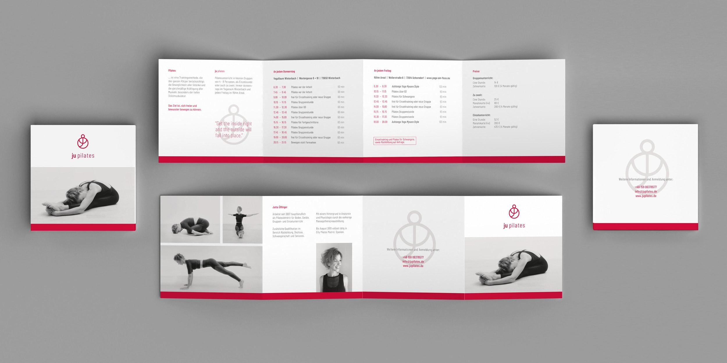 Ju Pilates Leporello komplett