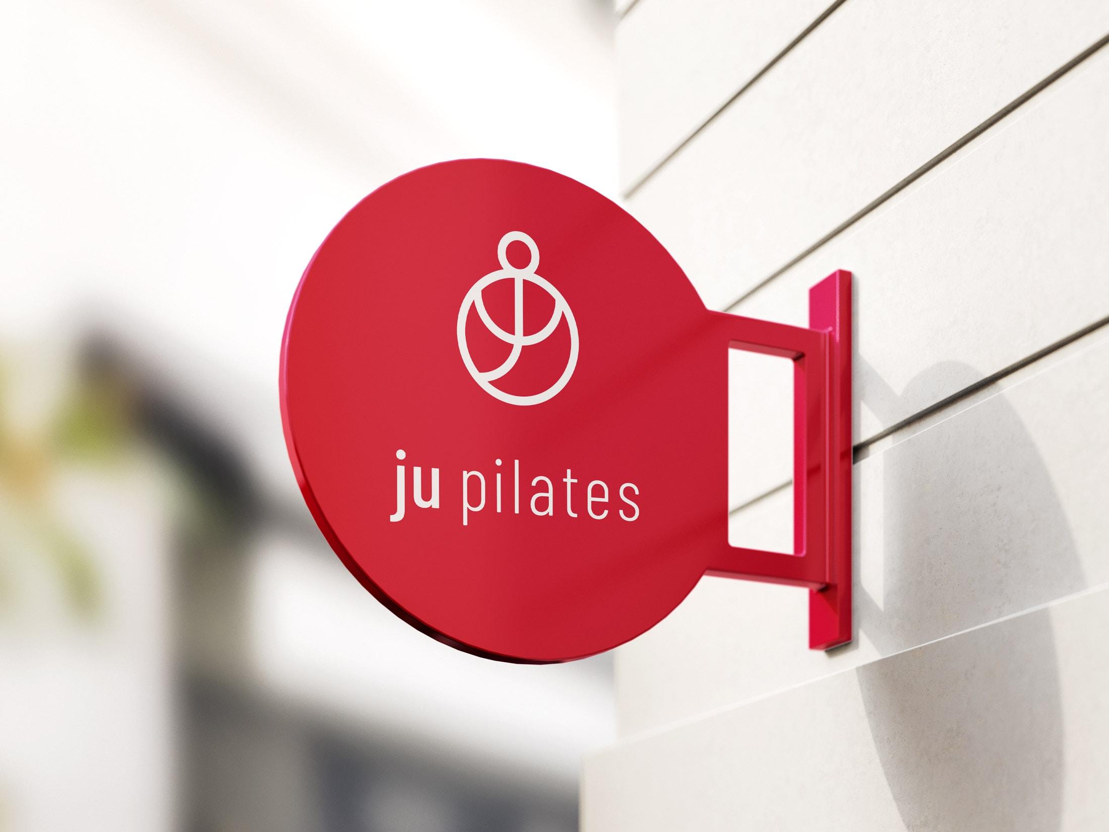 Ju Pilates Sign