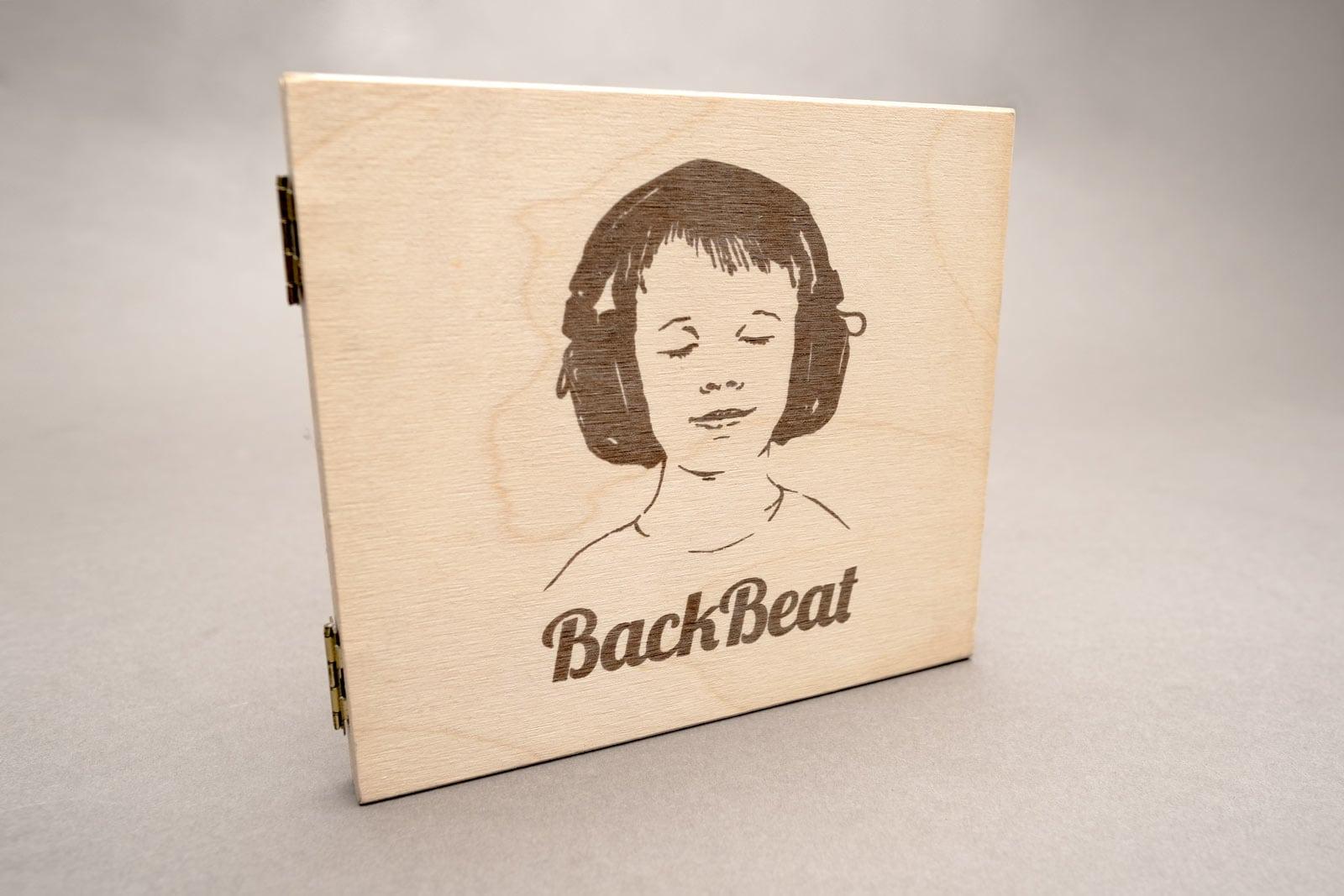 BackBeat, Musik Compilation, CD Cover, CD Holzhülle, Illustration, Cover Artwork, Cover
