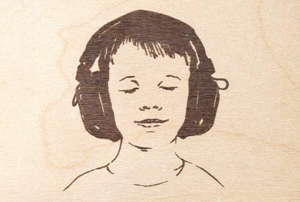 BackBeat, Musik Compilation, CD Cover, CD Holzhülle, Illustration, Cover Artwork Boy