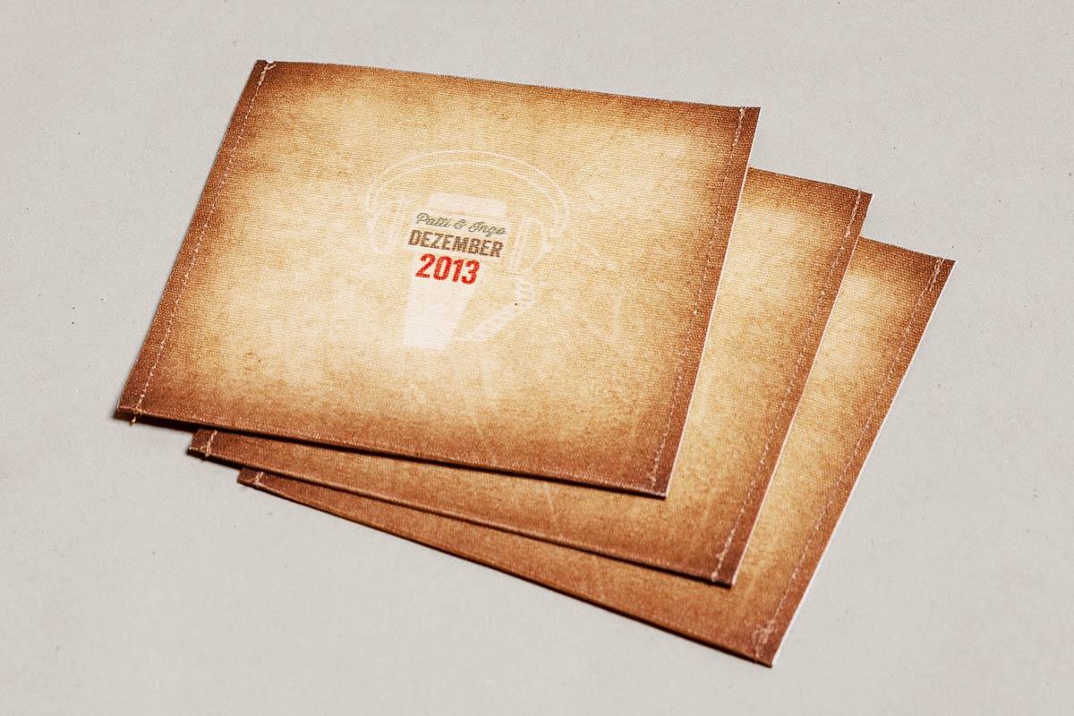 tutto bene, Musik Compilation, Booklet, CD-Label, CD Cover, CD Stoffhülle, Cover Artwork, Backside