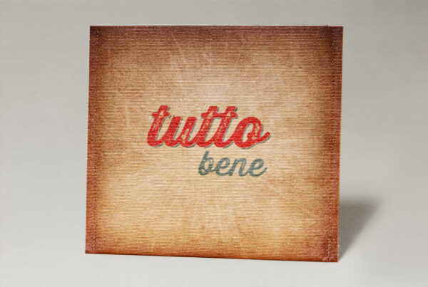 tutto bene, Musik Compilation, Booklet, CD-Label, CD Cover, CD Stoffhülle, Cover Artwork, Cover, TN